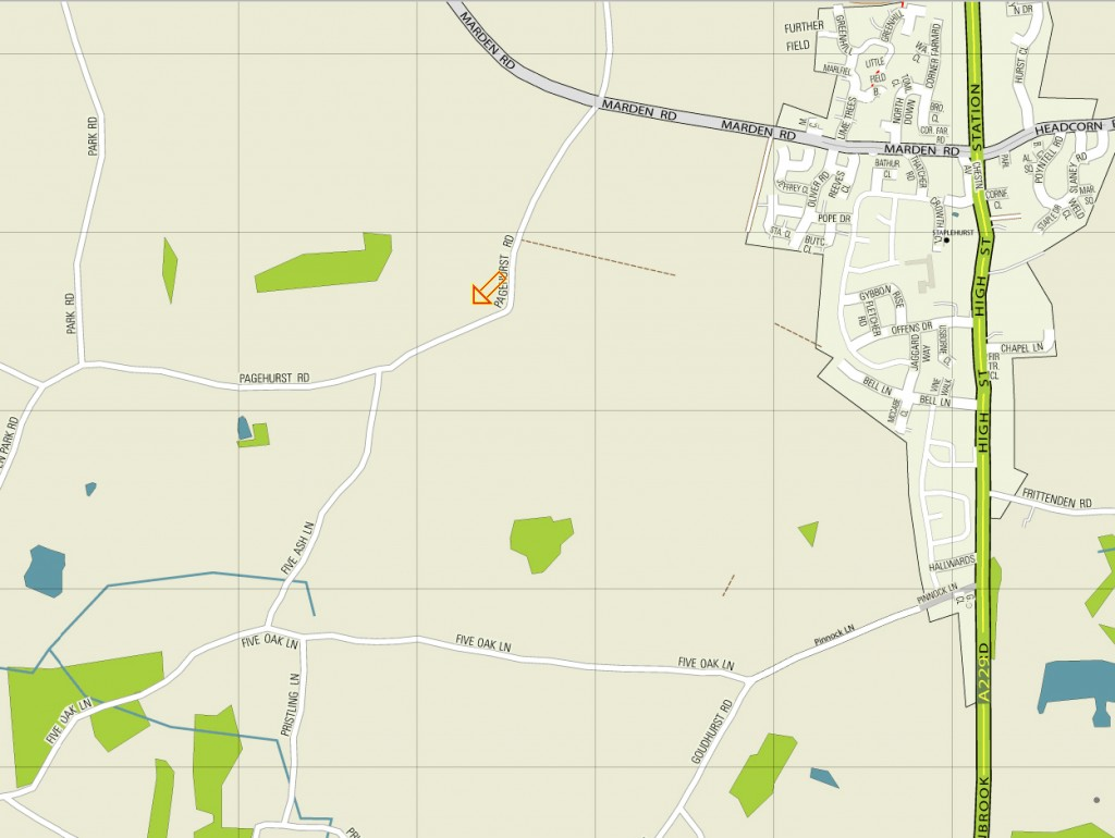Directions map to Laineys Farm adult day care centre for learning disabilities